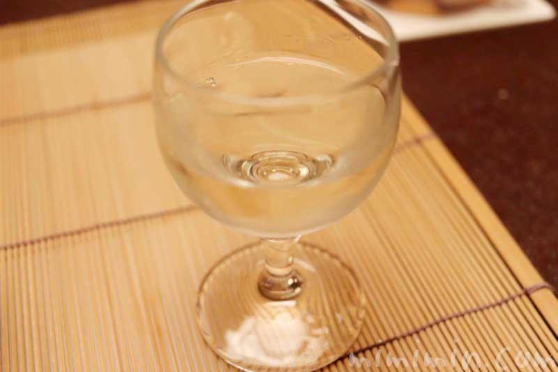 食前酒 自家製 松茸酒の画像