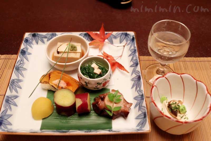 前菜|赤坂松葉屋の個室でランチ 赤坂会席の画像