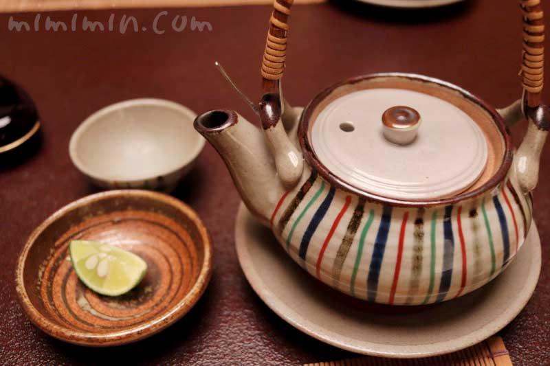 蒸物 松茸と鱧の土瓶蒸しの画像
