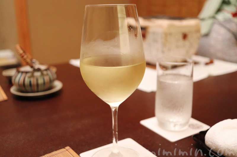 白ワイン|赤坂松葉屋の画像