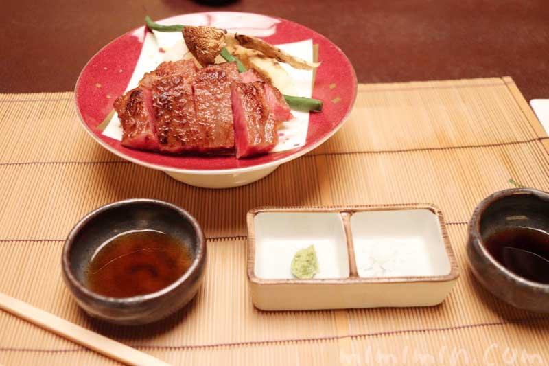 飛騨牛のサーロインステー|赤坂松葉屋 赤坂会席の写真