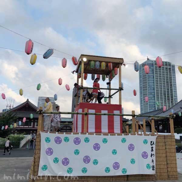 増上寺 盆祭りの画像
