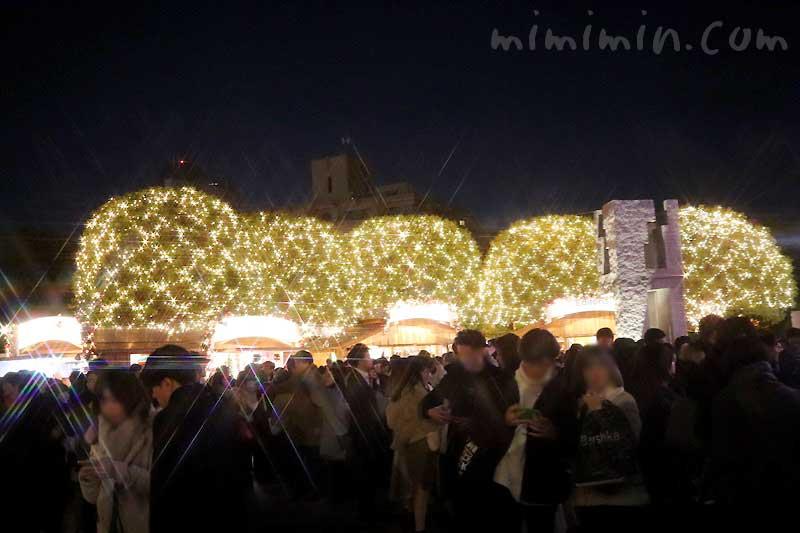 恵比寿ガーデンプレイスのイルミネーション2019の写真