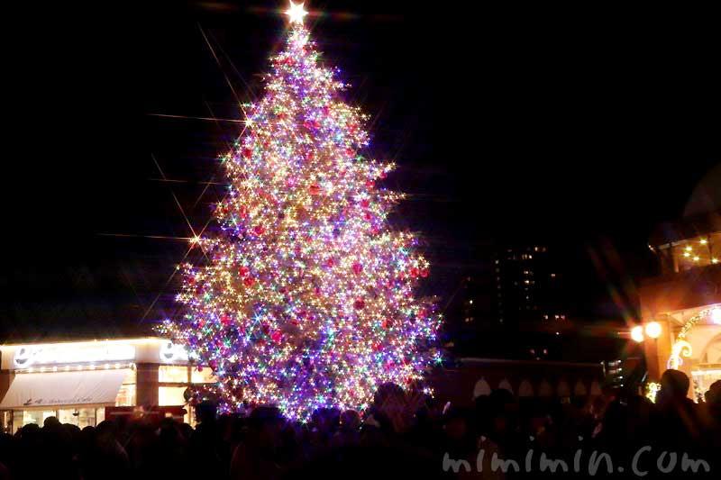 恵比寿ガーデンプレイスのクリスマスツリー2019の写真