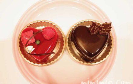 ジョエルロブション「ショコラバニーユ」と「ルージュ」の画像