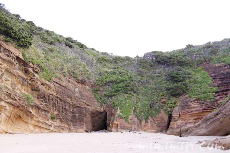 種子島いわさきホテルの海岸 象の水飲み岩