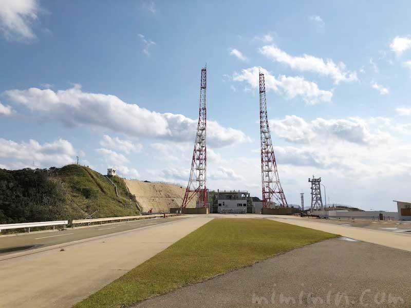 種子島宇宙センター 大型ロケット発射場の写真