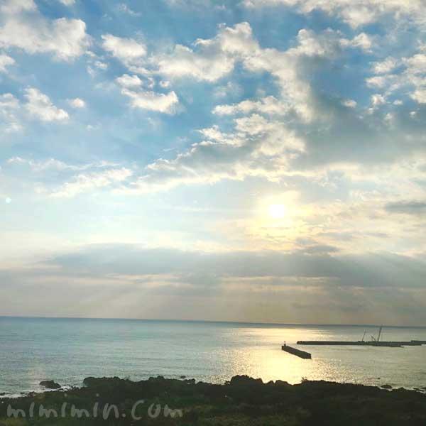 屋久島 海の朝日nogazou