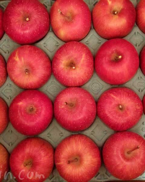 「真田幸村の郷のりんご」と「媛まどんな」