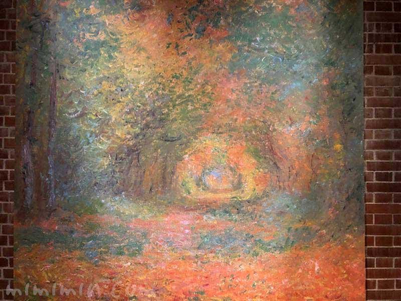 モネ「サン=ジェルマンの森の中で」の写真