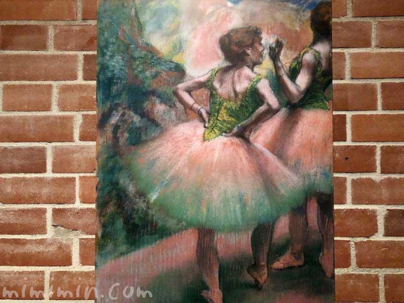 エドガー・ドガ「踊り子たち(ピンクと緑)」の画像