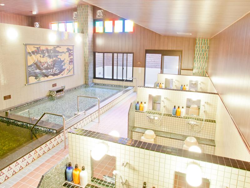 赤尾木の湯の大浴場の写真