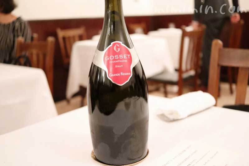 ゴッセ グラン レゼルヴ シャンパン|リストランテセンソ(イタリアン・白金台)の写真