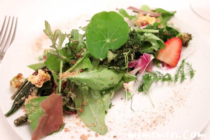 サラダ|リストランテセンソ(イタリアン・白金台)の写真