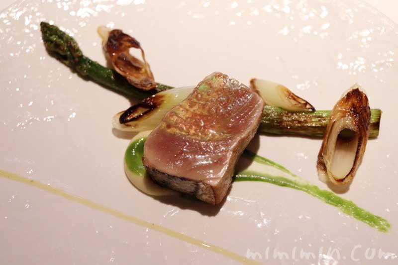 魚料理|NARITA YUTAKAのディナー |中目黒のフレンチの画像