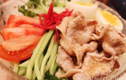 豚しゃぶ冷やし中華(簡単レシピ)の画像