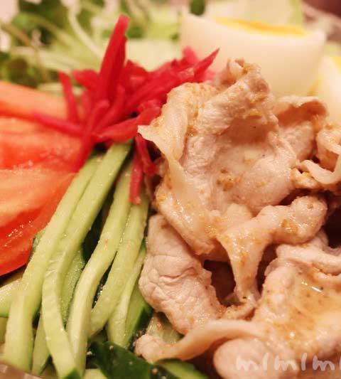 豚しゃぶ冷やし中華の簡単レシピ