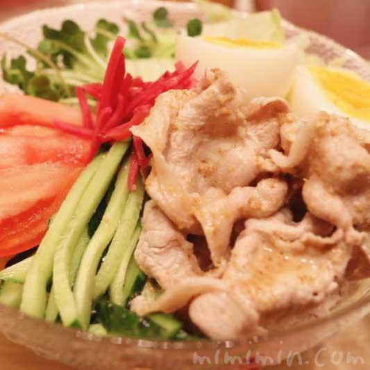 豚しゃぶ冷やし中華(レシピ)の画像