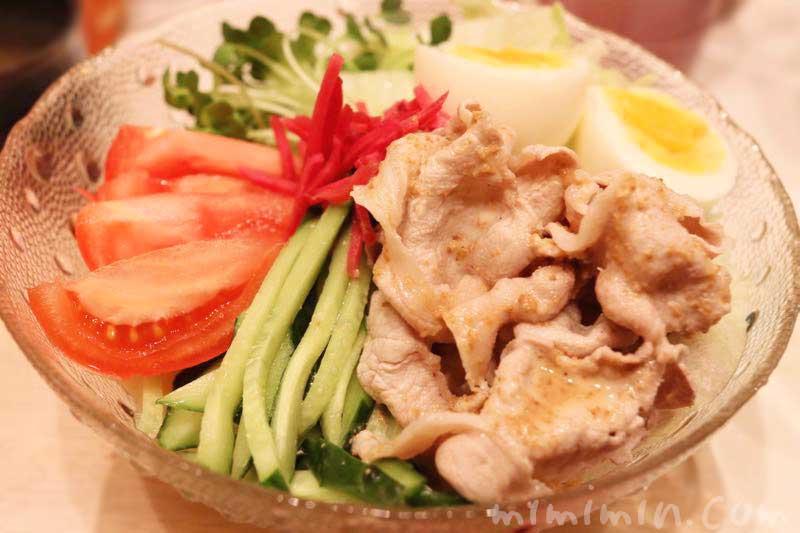 美味しい豚しゃぶ冷やし中華(レシピ)の写真