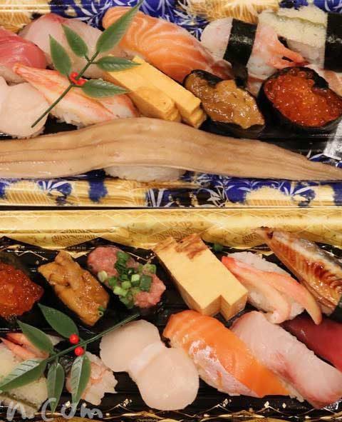 美登利寿司のお持ち帰り寿司