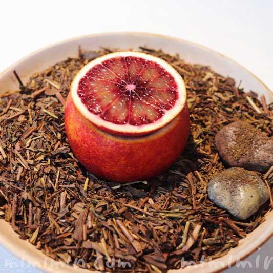 愛知 ブラッドオレンジ・静岡 柑橘・静岡 三年番茶|NARISAWAの写真