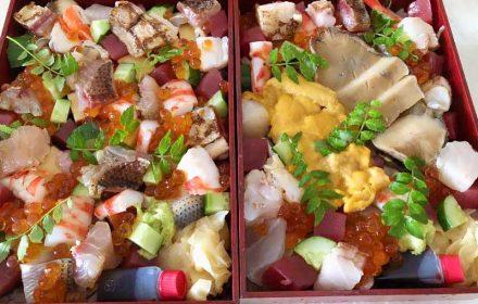 くりや川のテイクアウトのバラちらし寿司の画像