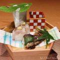 六本木 kappou ukaiのランチのお料理の写真