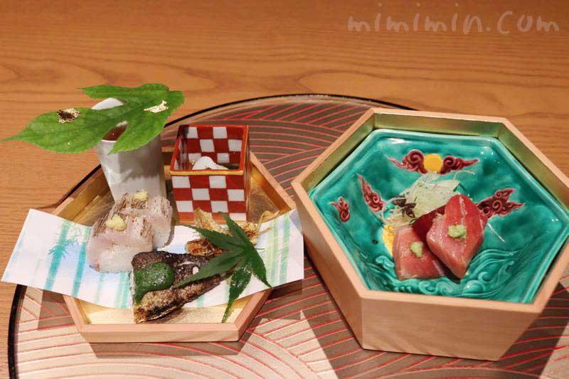 六本木 kappou ukai (カッポウ ウカイ)のランチのお料理の画像