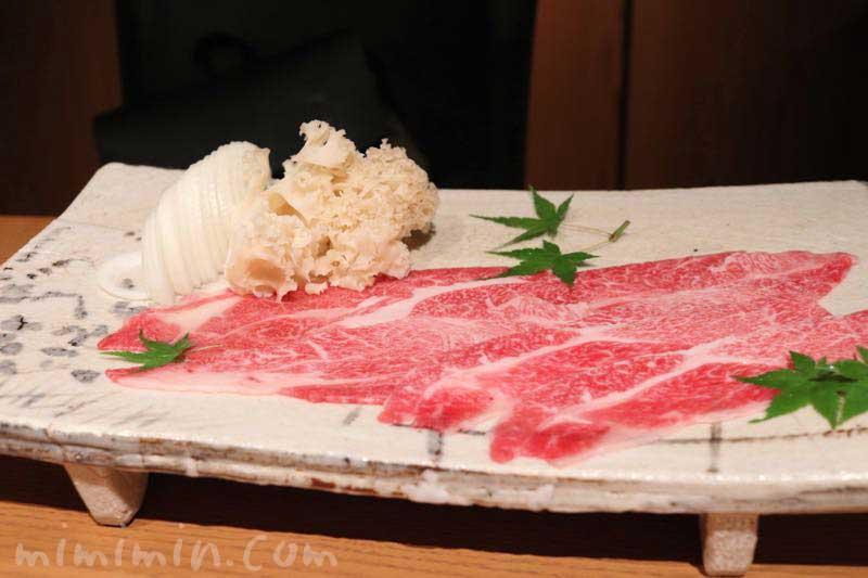 六本木 kappou ukaiのランチのしゃぶしゃぶの画像