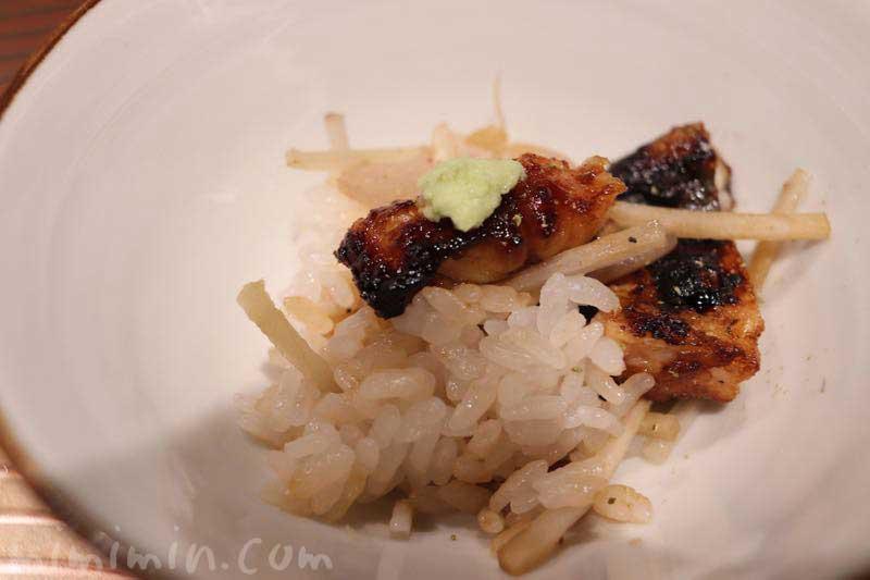 六本木 kappou ukai (カッポウ ウカイ)のランチの鰻ご飯の画像