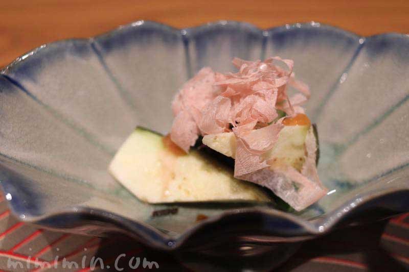 六本木 kappou ukai (カッポウ ウカイ)のランチの漬物の写真