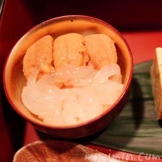 うに丼|鮨 伊佐野のおまかせコース|恵比寿・寿司の画像