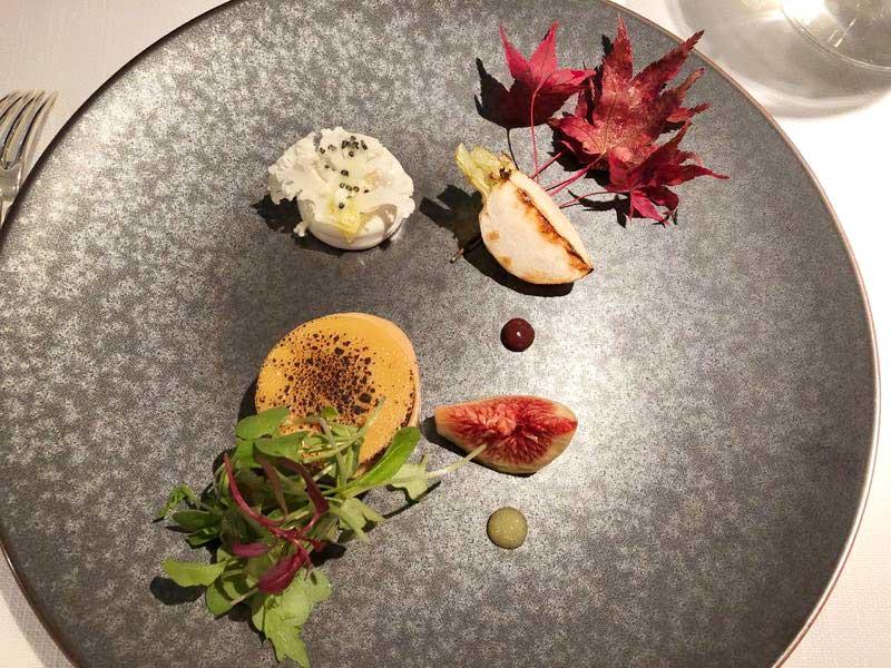 前菜|レストランひらまつの秋のランチの画像