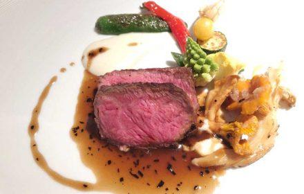 肉料理|レストランひらまつ(広尾)のランチの写真