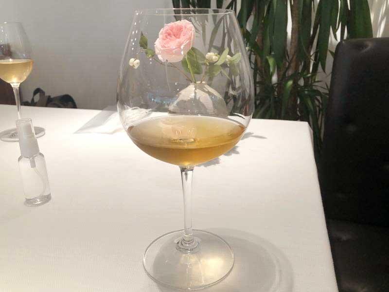 白ワイン|レストランひらまつ(広尾)のランチの画像