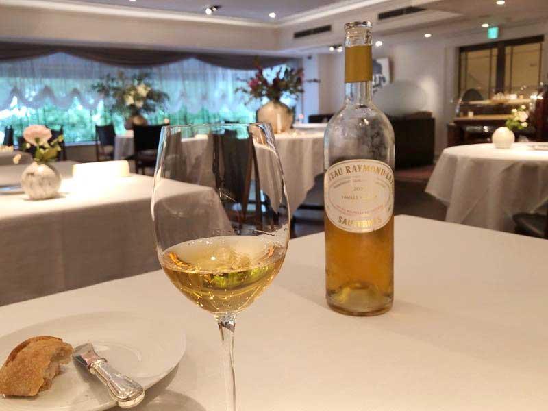 デザートワイン|レストランひらまつ(広尾)のランチの写真