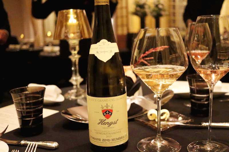 白ワイン|ガストロミー ジョエル・ロブションのデグスタシオンコースの画像