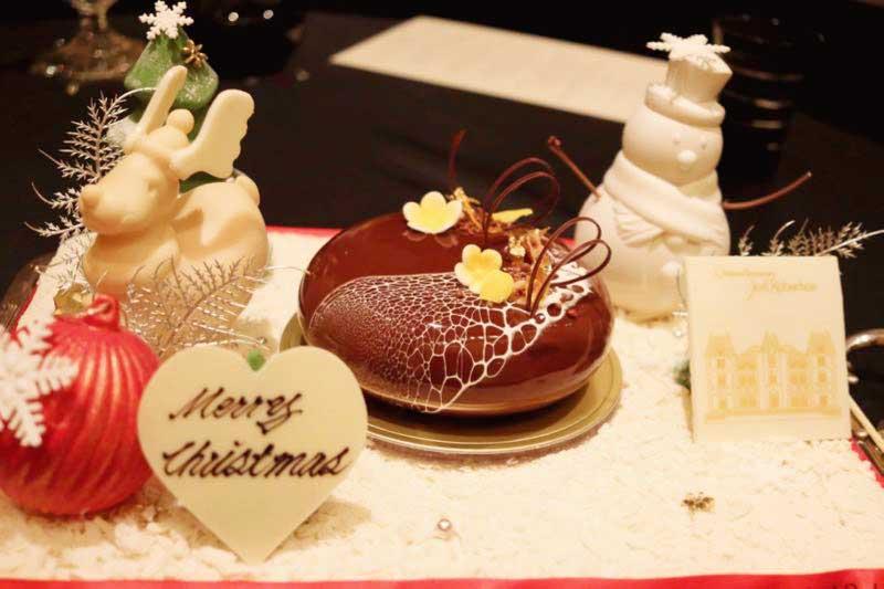 クリスマスケーキ|ガストロミー ジョエル・ロブションの写真
